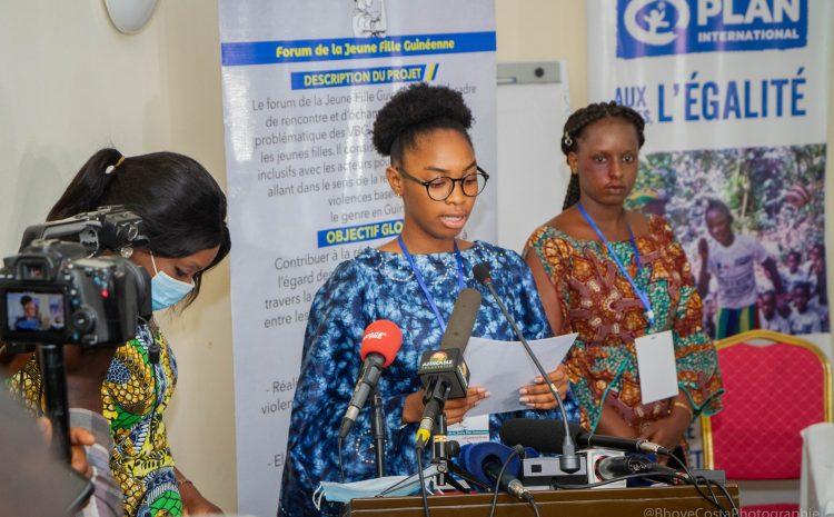 Et c'est parti pour le 1er Forum de la Jeune Fille Guinéenne !(génération224)