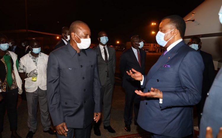 (Guineenews.org)Alpha Condé en route pour le Congo