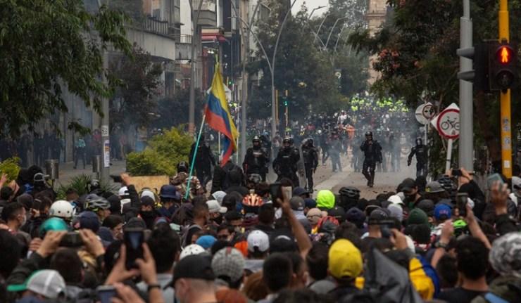 (Reseauinternational)Colombie – Une grève nationale qui prend le virage d'une « pré-révolution »