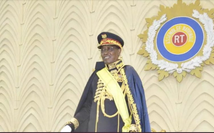 (rfi.fr)Tchad les funérailles d'Idriss Déby Itno en présence de plusieurs chefs d'État