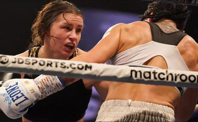 (rfi.fr)L'Irlandaise Katie Taylor, une boxeuse en or massif