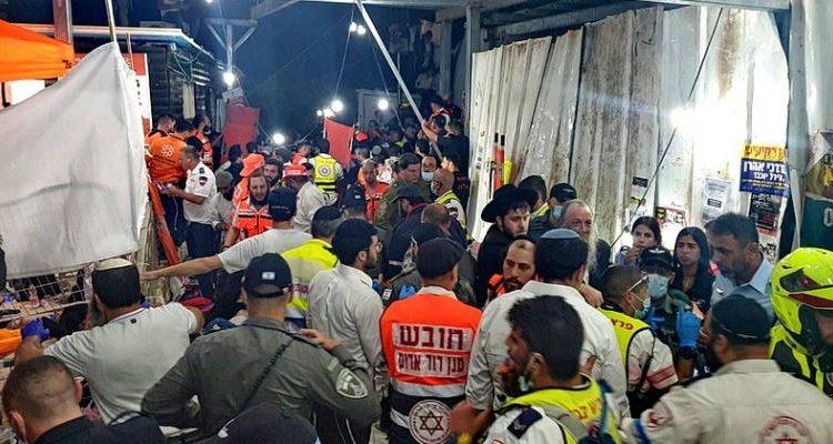(observateurcontinental)Au moins 44 morts lors d'un pèlerinage juif orthodoxe