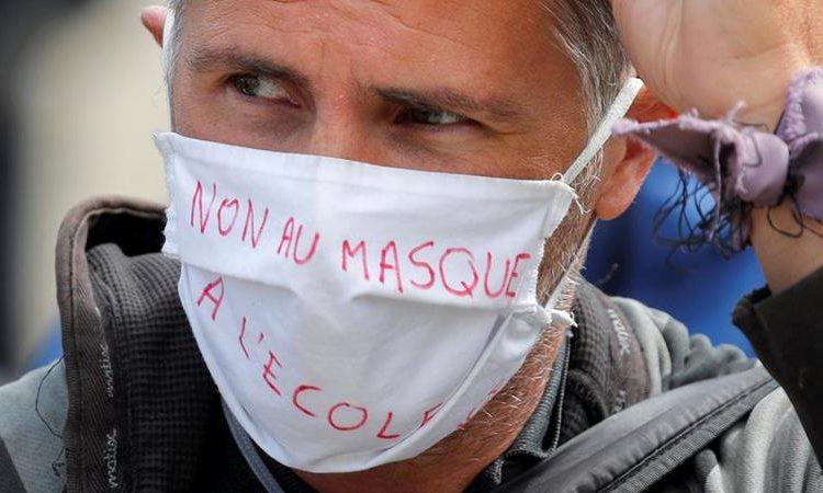 (Observateurcontinantal)France Une manifestation des «anti-masques» interdite par la préfecture