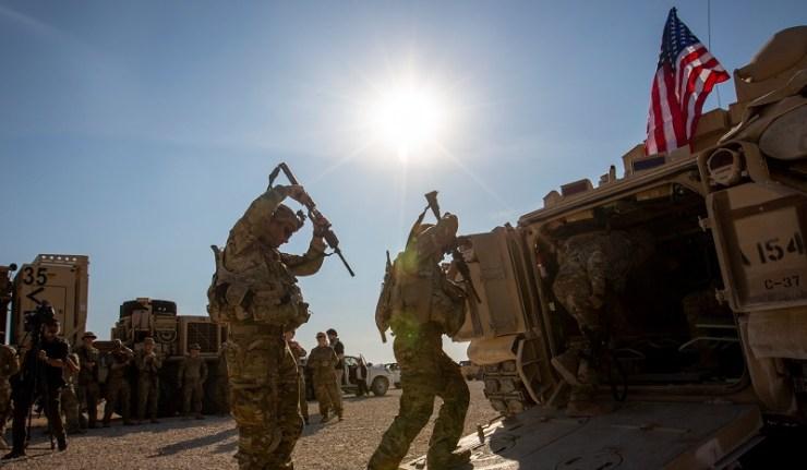 (Reseauinternational)Syrie, nouveau lieu de déploiement des troupes US