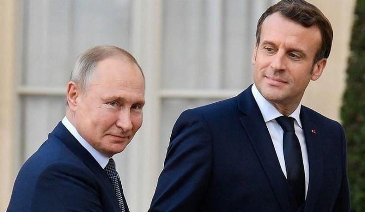 (Reseauinternational)Panique au Kremlin devant les avertissements de Macron
