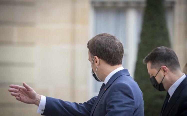 (Monde.fr)Au cœur des échanges entre Emmanuel Macron, Angela Merkel et Volodymyr Zelensky, l'épineuse « désescalade » avec la Russie.