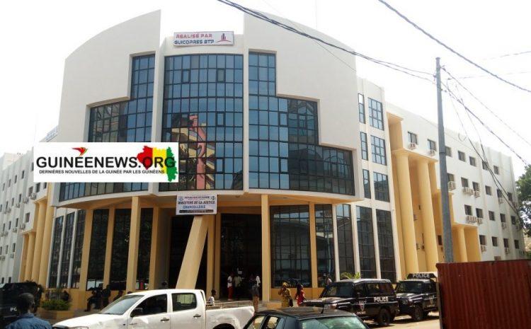 (Guineenews.org)Polémique sur l'état de Santé de Chérif Bah  voici ce que dit le ministère de la Justice