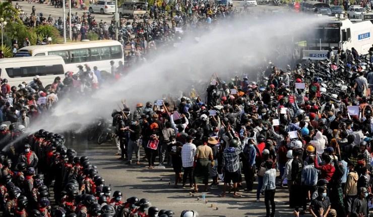 (Reseauinternational)La crise au Myanmar : Un jouet dans les mains des puissances mondiales que sont les États-Unis et la Chine ?