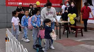 (rfi.fr)Démographie en Chine: «Le nombre des naissances n'a jamais été aussi bas depuis 1961»
