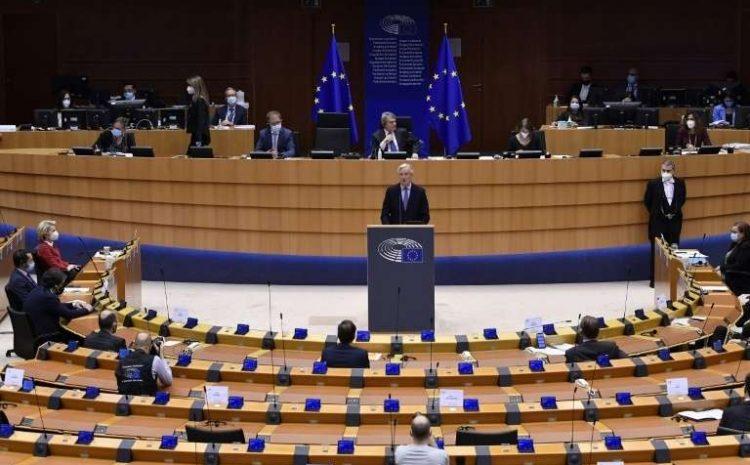 (monde.fr)Ultime étape du Brexit, le Parlement européen approuve l'accord commercial avec le Royaume-Uni.