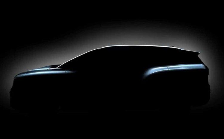(Phonandroid.com)ID.6 2022  Volkswagen tease un SUV électrique 7 places en amont de l'Auto Shanghai
