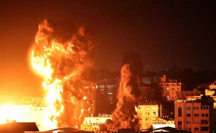 (rfi)Proche-Orient: nouveau pilonnage de Gaza par Israël, plus de 200 morts en une semaine