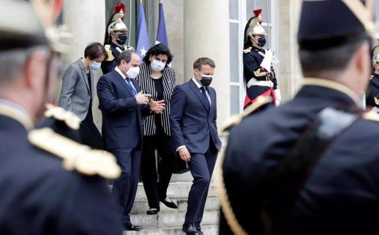 (rfi)Israël/Gaza: Macron et Sissi «soulignent la nécessité absolue de mettre fin aux hostilités»