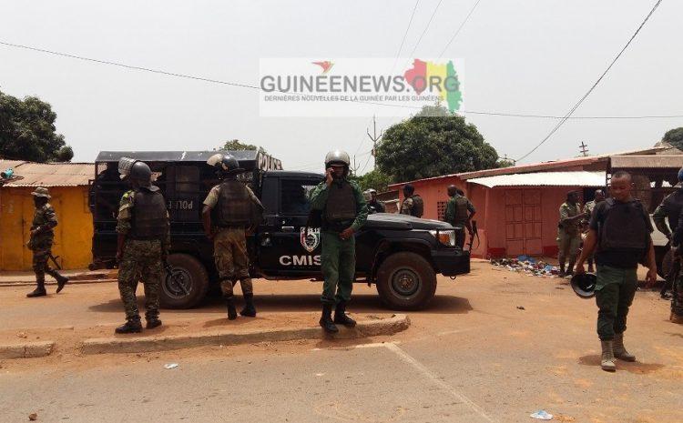 (Guineenews.org)Kankan : situation toujours tendue entre les barbus et les forces de l'ordre