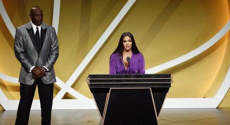 (le moov)Kobe Bryant au Hall of Fame : le discours émouvant de sa femme Vanessa