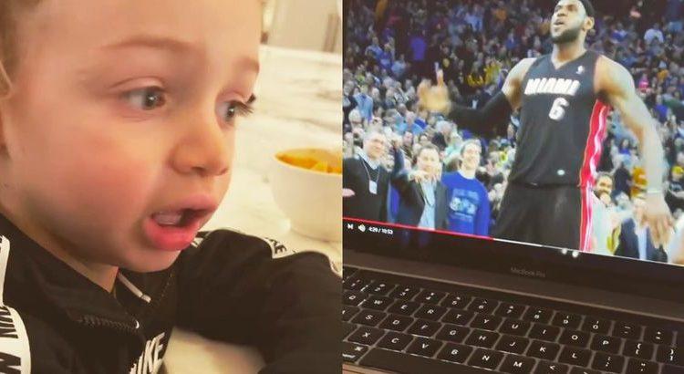 (lemouv.fr) Drake : son fils réagit aux exploits de LeBron James