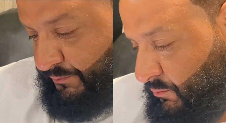 (le moov)DJ Khaled en larmes en apprenant qu'il est numéro 1 du Billboard