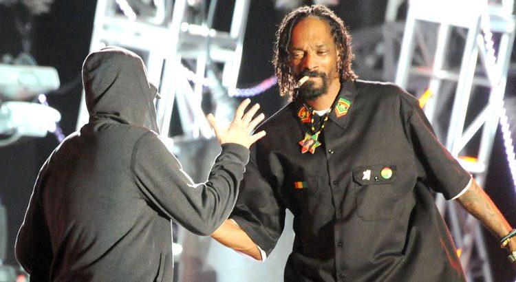 """(le moov.fr)Eminem s'exprime sur son clash avec Snoop : """"tout va bien"""""""