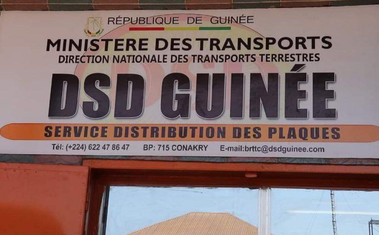 (Guineenews)Guinée-Transport terrestre : c'est parti pour la biométrisation des plaques d'immatriculation
