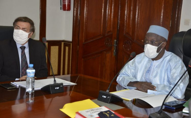 (Guineenews)Tête-à-tête ministre Diané-Représentant du Pnud : la 2è génération de la réforme du secteur de sécurité au menu