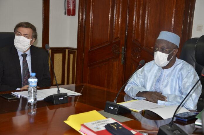 (guineenews.org) Tête-à-tête ministre Diané-Représentant du Pnud : la 2è génération de la réforme du secteur de sécurité au menu