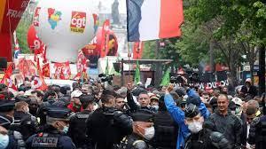 (rfi.fr)1er-Mai en France: des milliers de manifestants dans la rue et quelques tensions.