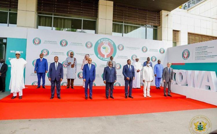 (Guineenews.org)CEDEAO : voici les grandes lignes de la 59e Session des Chefs d'Etat et de Gouvernements