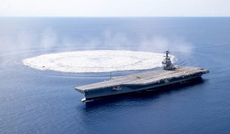 (Reseauinternational)Une ère nouvelle où les porte-avions nucléaires seront envoyés par le fond