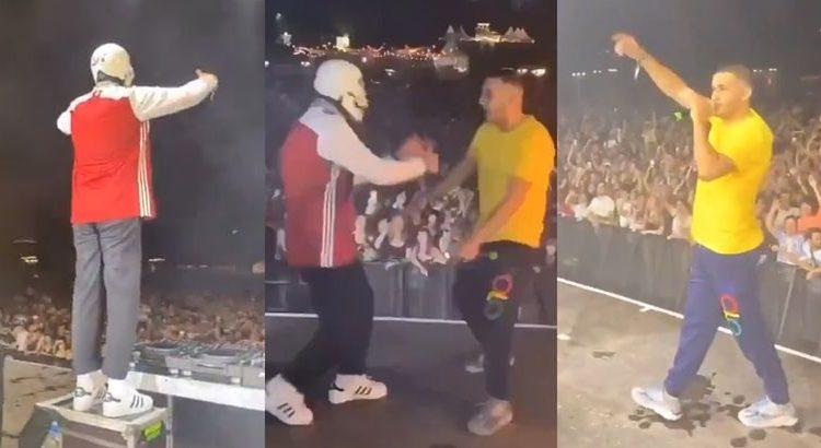 """(mouv.fr)Soso Maness et Vladimir Cauchemar mettent le feu sur scène avec """"Petrouchka"""""""