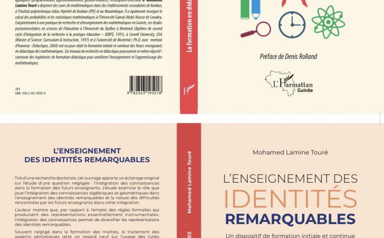 (Guineenews.org)Culture : Dr Mohamed Lamine Touré publie deux ouvrages chez l'Harmattan Guinée