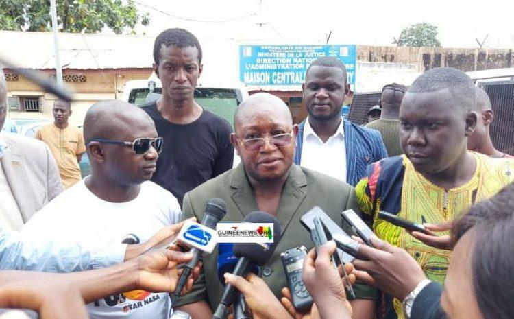 (Guineenews.org)Graciés par Alpha Condé, les opposants Souleymane Condé et Youssouf Dioubaté sont sortis de prison