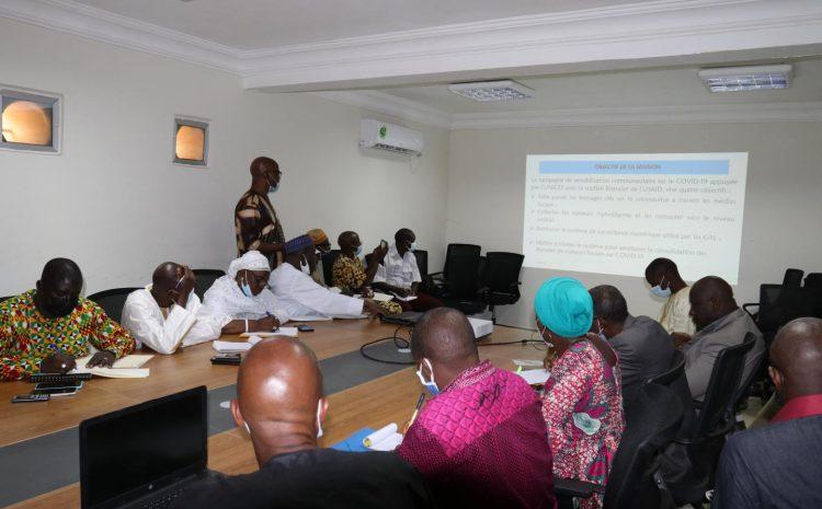 (Guineenews.org)Les groupes d'actions locales redynamisés pour contrer les rumeurs sur la COVID dans les communautés