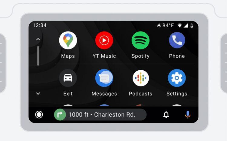 (phonandroid.com)Android Auto permet désormais d'accéder à WhatsApp et Telegram
