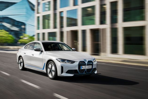 (01net.com)i4 : BMW lance officiellement sa première berline 100% électrique