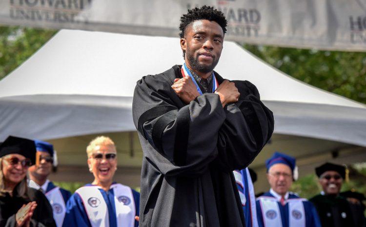 (rollingstone.fr)L'université Howard nomme le collège des beaux-arts en l'honneur de Chadwick Boseman