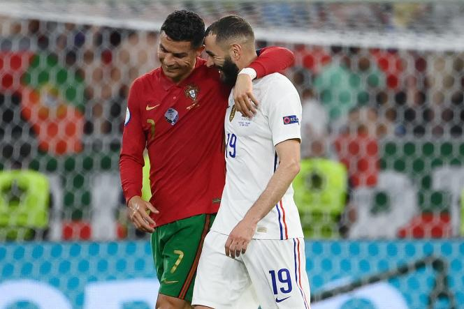 (le monde)Euro 2021 : Karim Benzema et Cristiano Ronaldo, une histoire de buts et d'amitié