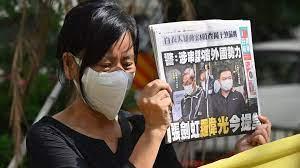 (rfi.fr)Loi sécurité à Hong Kong: le journal pro-démocratie «Apple Daily» au bord de la fermeture.