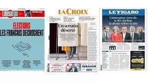 (rfi.fr)Àla Une: 31 millions d'abstentionnistes.