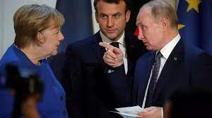 (rfi.fr)UE: la France et l'Allemagne plaident pour l'organisation d'un sommet avec la Russie.