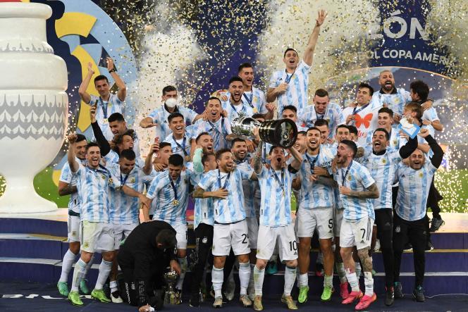 (le monde)Copa America: Messi enfin couronné avec l'Argentine en terrassant le Brésil