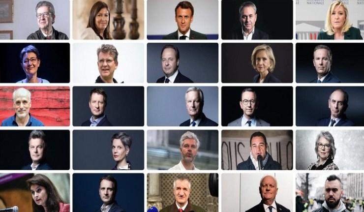 (Reseauinternational)Présidentielle 2022 : que des petits candidats