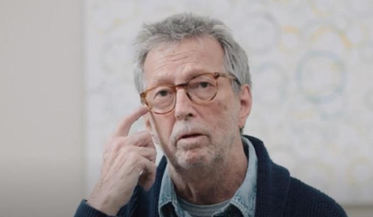 (RI)Eric Clapton : double vacciné et inquiet