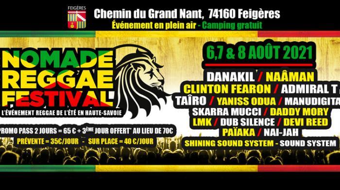 (reggae.fr)Nomade Reggae Festival les 6, 7 et 8 août