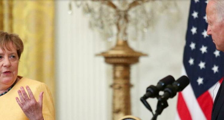 (rfi.fr)Angela Merkel reçue par Joe Biden pour des adieux amicaux, mais endeuillés