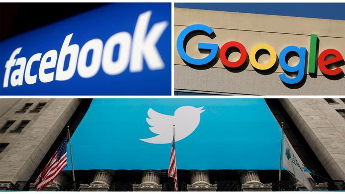 (observateurcontinental)Trump annonce des recours collectifs contre les géants de la technologie Twitter, Facebook, Google