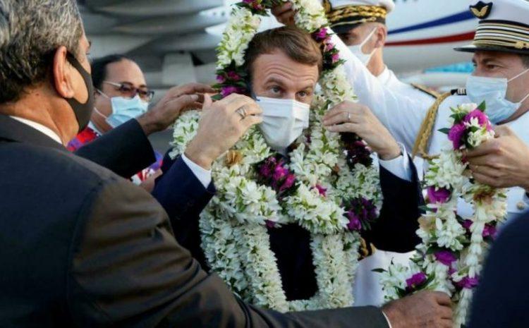 (observateurcontinental)Essais nucléaires: Macron reconnaît une «dette» de la France envers la Polynésie