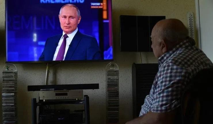 (Ri)Quand Poutine s'adresse à la nation