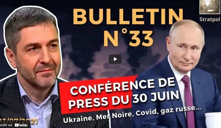(Ri)Gazprom 2021, Provocations en Mer Noire, Peuple Rus, Poutine vs vaccin ?