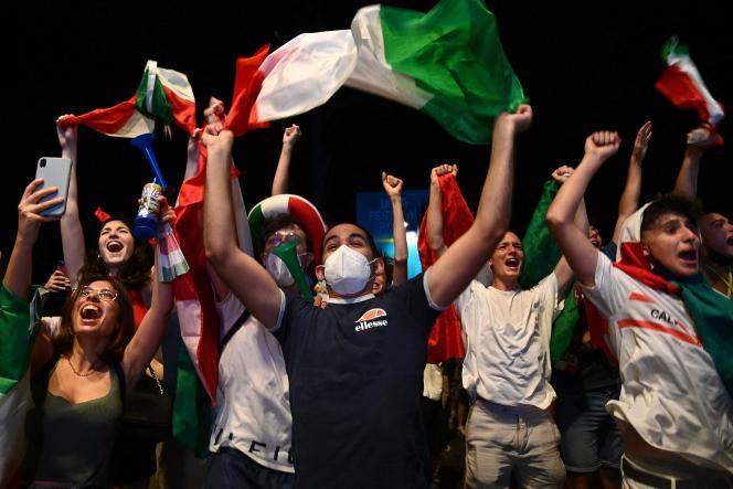 (le monde)Euro 2021: l'Italie oublie un an et demi de deuils, de peur et de restrictions