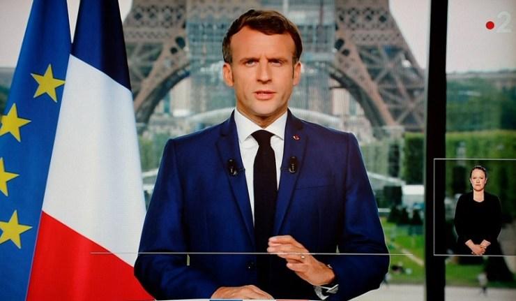(Reseauinternational)Allocution de Macron : incroyable quelle surprise !